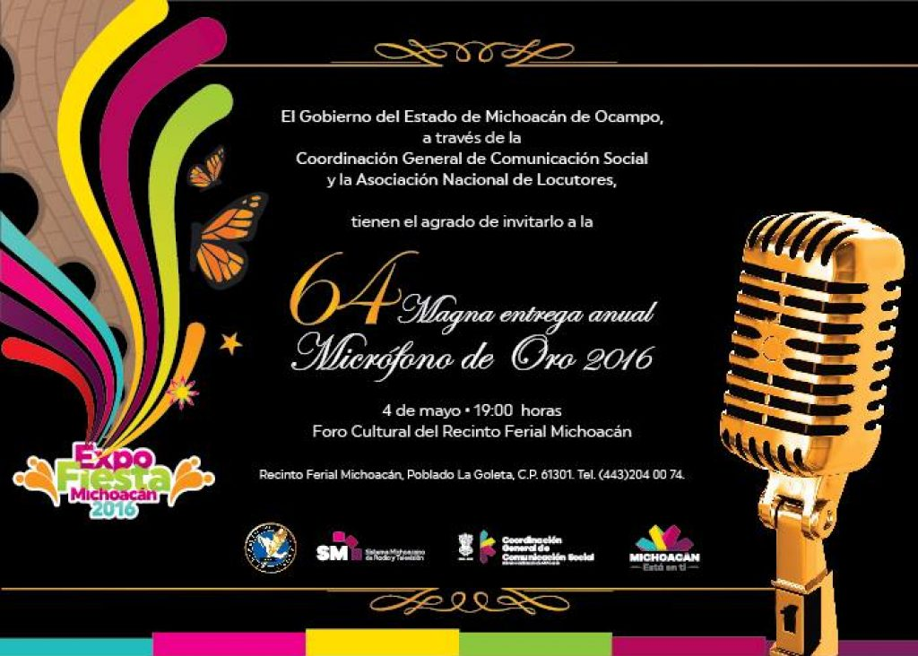 Micrófono de Oro, Morelia, Dueto Zacán, Michoacán, México, Pirekua, Zacán, Purepecha
